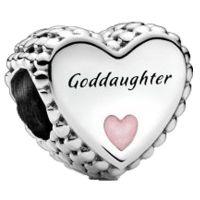 PANDORA Element  799147C01 Goddaughter Charm